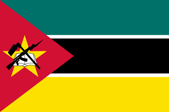 Flag: Mozambique