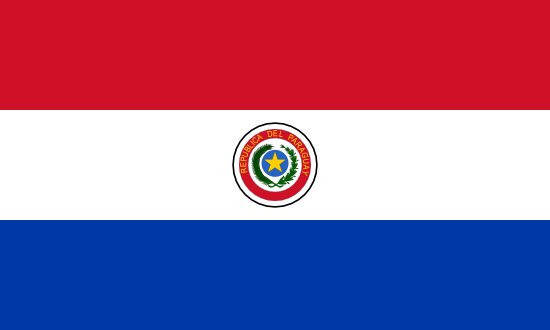 Flag: Paraguay